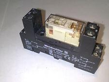 Weidmuller RCL 424110 RELAY COIL 110 V DC + SRC 2CO N DIN Rail Mount RELE