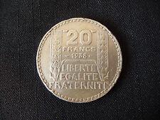 Pièce de 20 Fr / Francs Turin 1938 . B