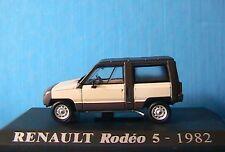 RENAULT RODEO 5 DE 1982 BLANCHE 1/43 UNIVERSAL HOBBIES