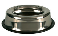 Stainless Steel Swobby Dog Bowl suitable for car tours Rim prevents spills 2499