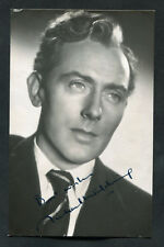 C1950s Signed Photo of Actor Michael Wilding, 2nd Husband to Elizabeth Taylor