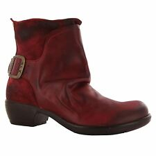 Fly London Mel Leather Womens Boots