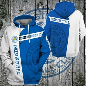 Leicester City F.C. Unisex 3D Hoodie Pullover All Over Print