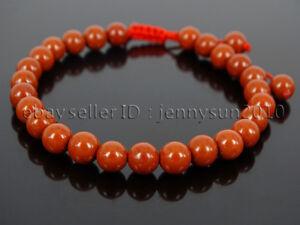 Handmade 6mm Adjustable Mixed Natural Gemstone Round Bead Bracelet Reiki Chakra