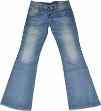 Distressed Diesel Damen-Jeans