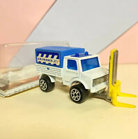 Vintage Majorette 215 Air France Mercedes Unimog In Open Box.