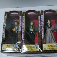 Banpresto,Lupin The 3rd 7 inch Full Action Figure,3 Items Complete Set #41