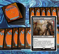 mtg BLACK RED RAKDOS ROBOTS DECK Magic the Gathering rares 60 cards KAL