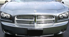2006-2010 Dodge Charger 4 Piece Chrome Grille Insert Overlay Imposter GI-58 NEW
