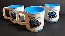 "California Raisins Travel Dashboard Adhesive Base Cups 3"""