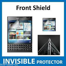 BlackBerry Passport INVISIBLE FRONT Screen Protector Shield Military Grade Skin
