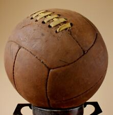 1950's Vintage Challenge Leather Football. Old Antique Soccer Ball.