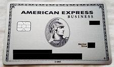 Metal Credit Card AMEX Centurion PLATINUM BUSINESS card
