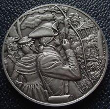 DAR Medal - REBECCA BREWTON MOTTE Great Women of the American Revolution