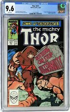 Thor #411 (1989) CGC 9.6 KEY 1st New Warriors Appearance Juggernaut