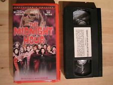 The Midnight Hour Collectors Edition VHS Anchor Bay Clam Shell Very Rare OOP NOB