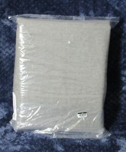 Pottery Barn Peace Quiet Noise Reducing Blackout Curtain 50x108 Gray