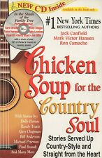 Chicken Soup for the Country Soul -  Jack Canfield  [ BOOK & AUDIO CD ] Book