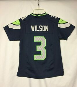 NFL Seattle Seahawks Russell Wilson Nike Youth Jersey size Small 8