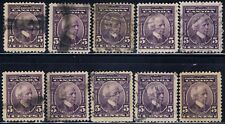 Canada #144(1) 1927 5 cent violet SIR WILFRID LAURIER 10 Used CV$50.00