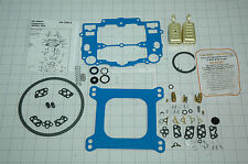 NO STICK BLUE EDELBROCK CARB REBUILD KIT W/FLOATS 1403 1405 1406 1407 LIKE EDELB