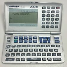 Sharp Electronic Organizer YO-480 calculator