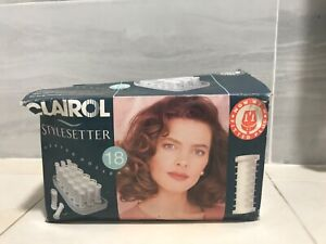 Clairol style setter heated rollers boxed very good condition 0.99 no reserve