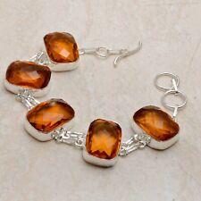 Honey Citrine Ethnic Handmade Bracelet Jewelry 36 Gms AB 92233
