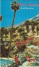 CC-190 CA, Palm Springs The Tennis Club Chrome Postcard California V for Victory