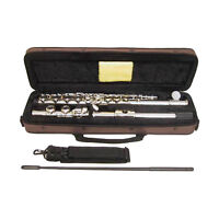 SKY Band Approved Nickel Flute+FREE Nametag Holder