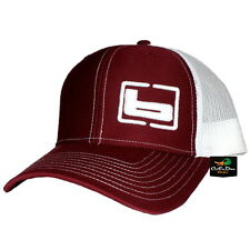 e6f8b49c6d375 NEW BANDED GEAR TRUCKER CAP HAT CARDINAL RED WHITE W