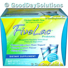 Fivelac candida yeast acidophilus probiotic autism Global Health Trax 5lac 5 lac