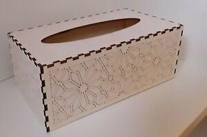 Taschentücherbox Taschentücher Box Kosmetiktücher Holz neu made in Germany