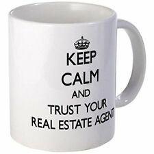 11oz mug Keep Calm and Trust Your Real Estate Agents