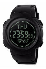 Aqua Force Digital Dual Time Watch w/ Digital Compass (50m water resistant)