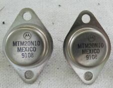 2 Count Motorola MTM20N10 Power Mosfet Transistor