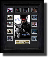 Signed Robocop filmcell (2014)  signed by Joel Kinnaman