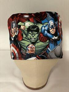 Men/Women Surgical Scrub Cap, Marvel Avengers, Hulk