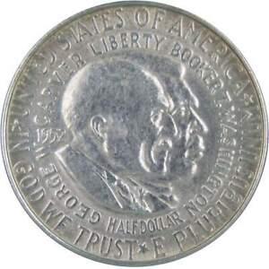 1952 Carver / Washington Commemorative Half Dollar 90% Silver 50c US Coin