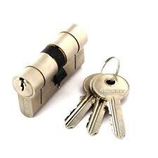 SECURIT S2057 ANTI SNAP EURO CYLINDER UPVC DOOR LOCK 3 KEYS 35mm x 35mm - NICKEL
