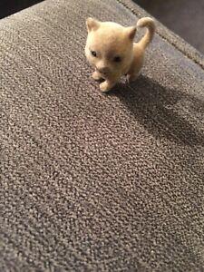 Tiny Felt Kittens, Doll House Miniature Pets & Animals