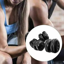 16-25kg Portable Dumbbell Water-filled Barbell Set Weights Gym Fitness Training