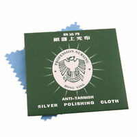 5 x Silver Polishing Cloths Cleaning Cleaner Polishing Cloth Anti Tarnish