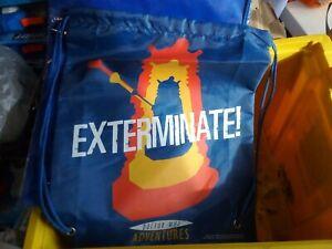 Doctor Who dalek exterminate.  Drawstring Shoulder Bag