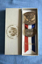 """Alternate"" Democratic National Convention Badge, New York City,  July, 1976"