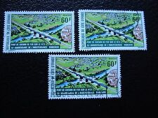 COTE D IVOIRE - timbre yvert/tellier n° 394 x3 obl (A27) stamp (R)