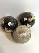 Plastic Ball World Globe Home Decor 4""