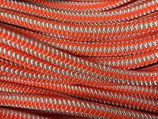 """Pelican Orange White Climbing Rope 1/2"""" x 150' Pow12150"""