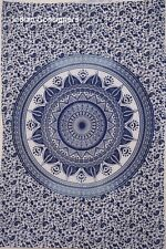 Traditional Mandala Small Poster Tapestry Hippie Wall Door Hanging Floral Indian