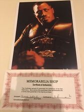 Authentic 1998 Original Wesley snipes handsigned Autograph blade Signature Pic